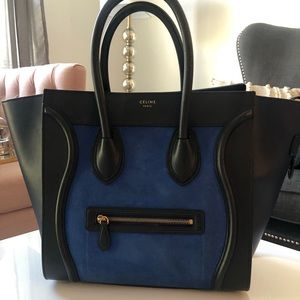Céline Mini Luggage Tote